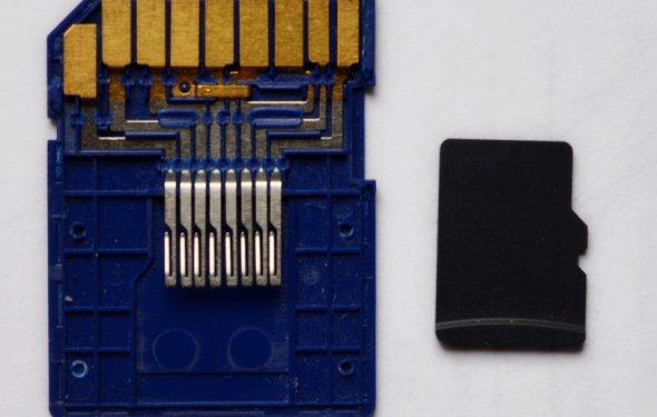 Фейковая SD карта памяти